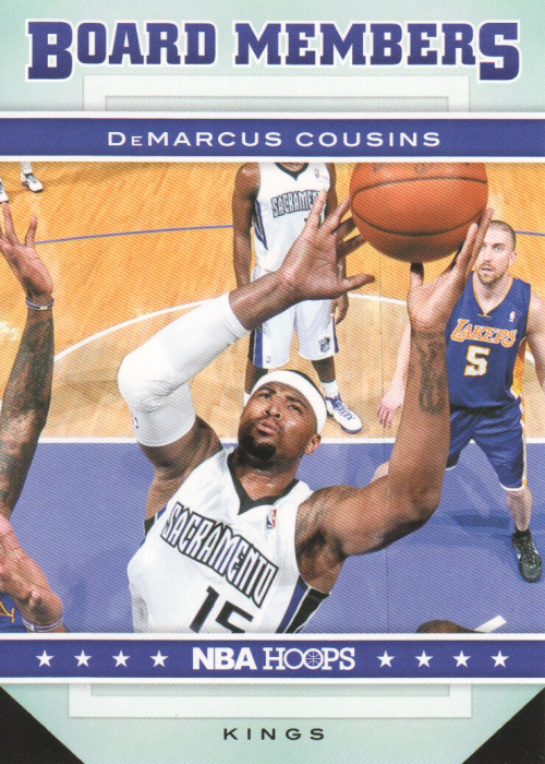 2012-13 Hoops Board Members #6 DeMarcus Cousins