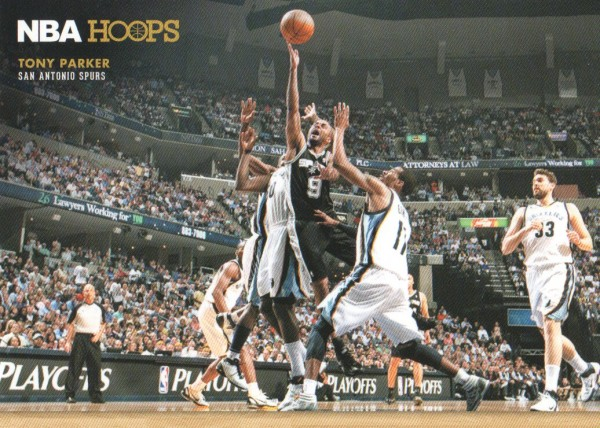 2012-13 Hoops Courtside #2 Tony Parker