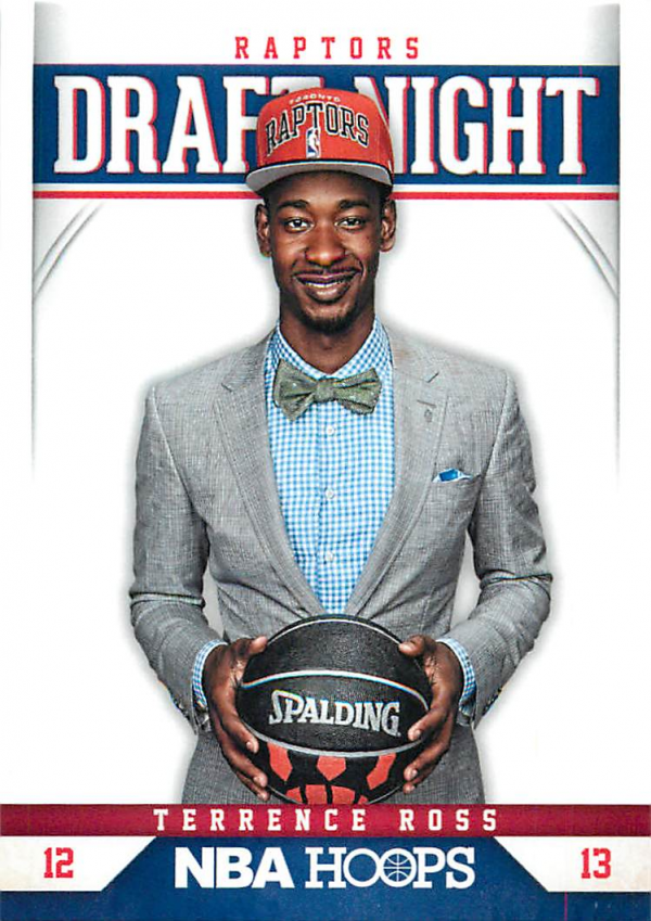 2012-13 Hoops Draft Night #8 Terrence Ross