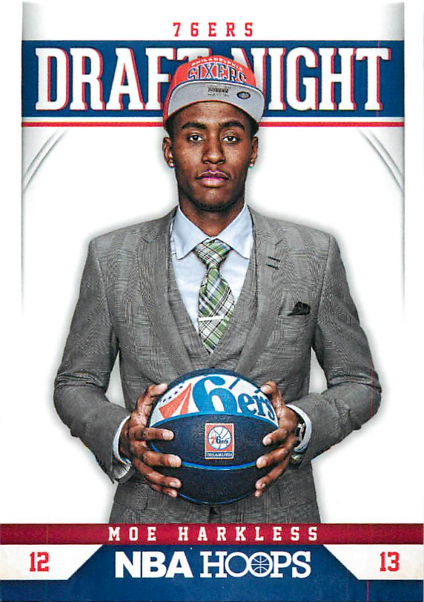2012-13 Hoops Draft Night #14 Moe Harkless