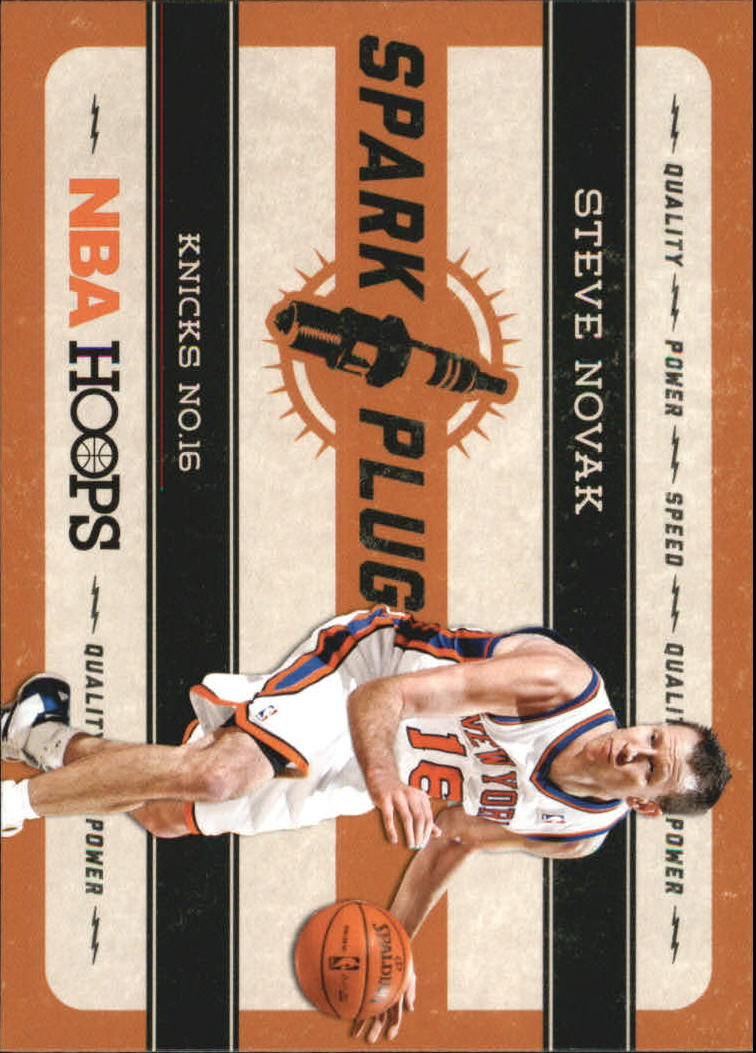 2012-13 Hoops Spark Plugs #7 Steve Novak