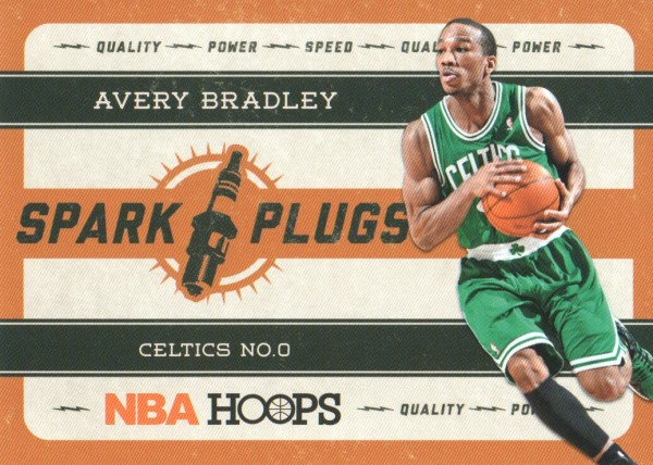 2012-13 Hoops Spark Plugs #20 Avery Bradley