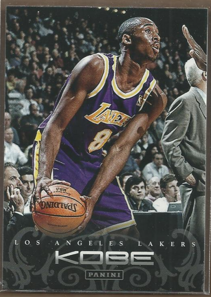 2012-13 Panini Kobe Anthology #4 Kobe Bryant
