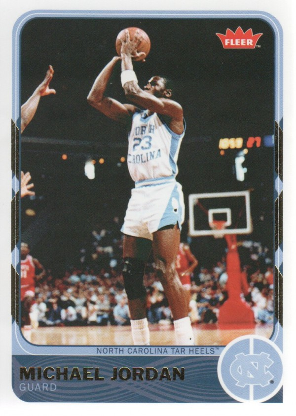 2011-12 Fleer Retro #1 Michael Jordan