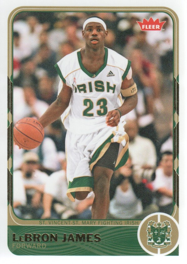 2011-12 Fleer Retro #2 LeBron James