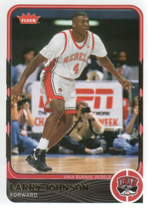 2011-12 Fleer Retro #4 Larry Johnson