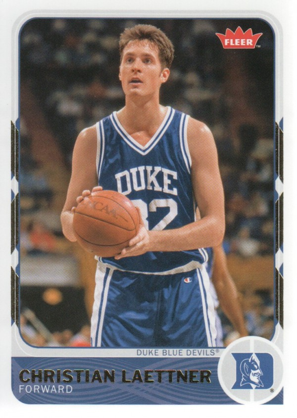 2011-12 Fleer Retro #7 Christian Laettner