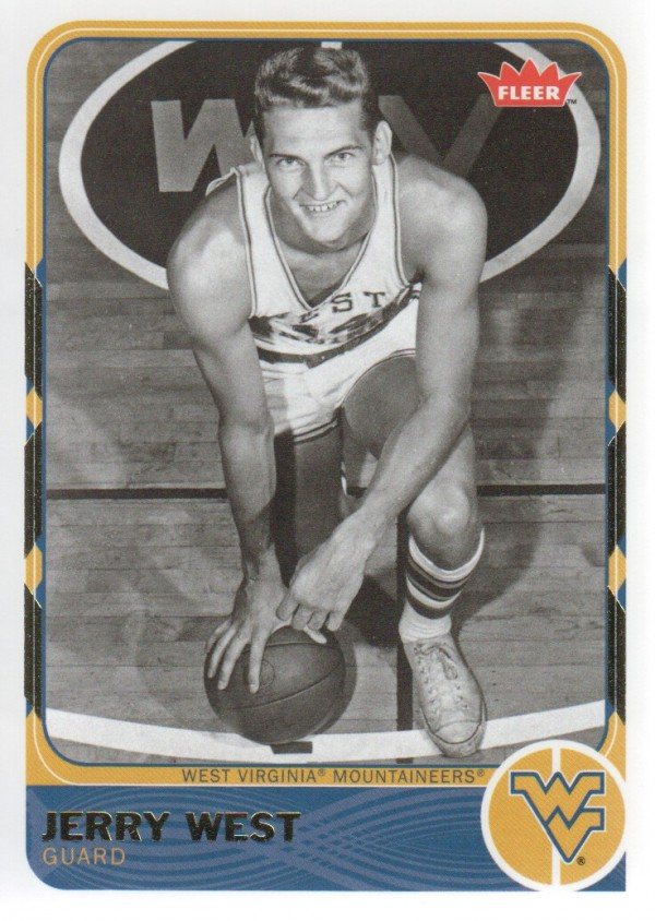2011-12 Fleer Retro #9 Jerry West