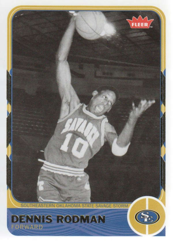 2011-12 Fleer Retro #10 Dennis Rodman