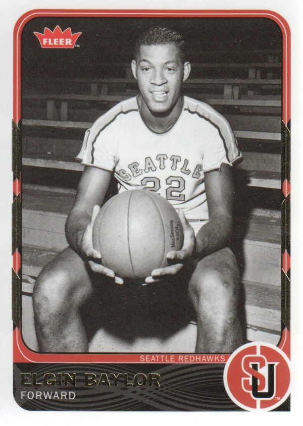 2011-12 Fleer Retro #14 Elgin Baylor