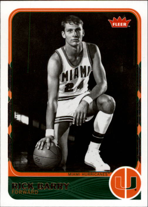 2011-12 Fleer Retro #17 Rick Barry