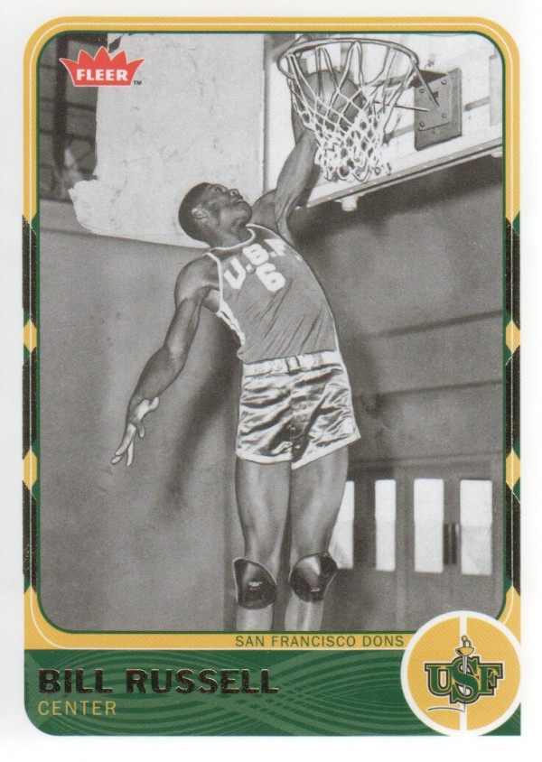 2011-12 Fleer Retro #28 Bill Russell
