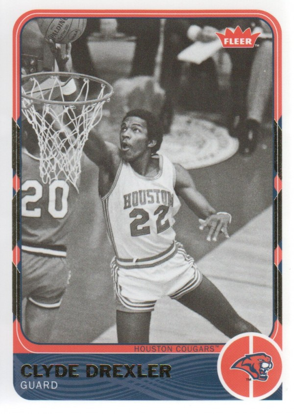 2011-12 Fleer Retro #33 Clyde Drexler