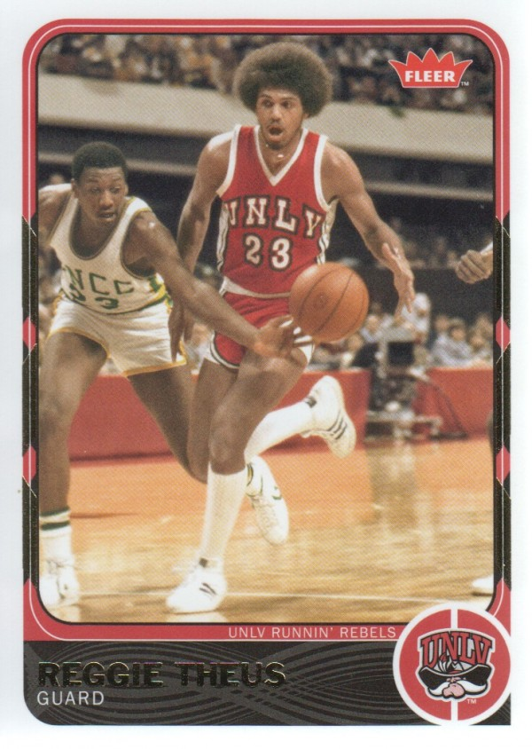 2011-12 Fleer Retro #40 Reggie Theus