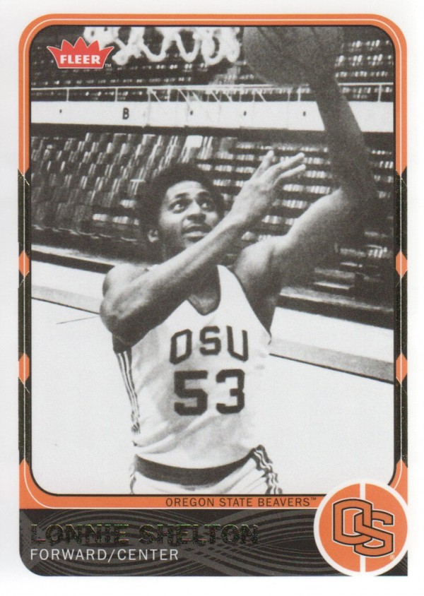 2011-12 Fleer Retro #44 Lonnie Shelton