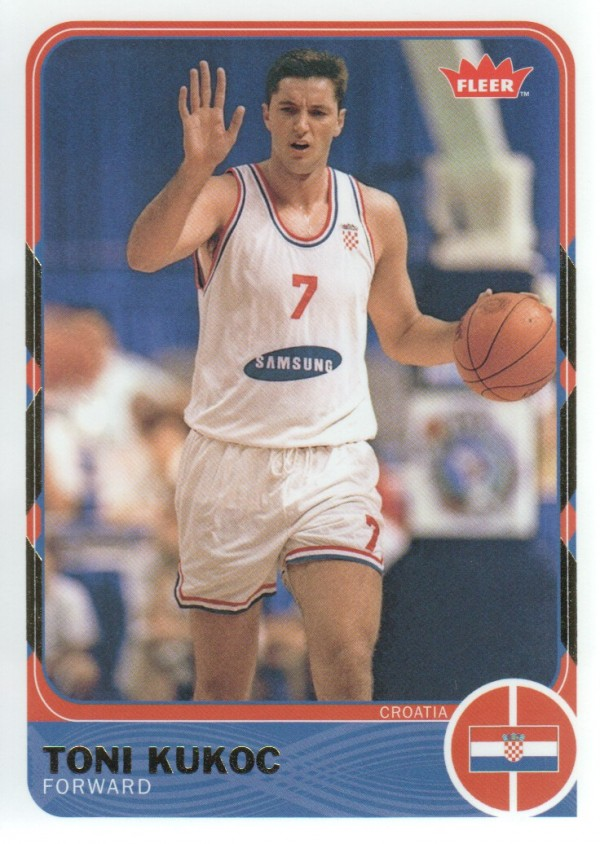 2011-12 Fleer Retro #45 Toni Kukoc