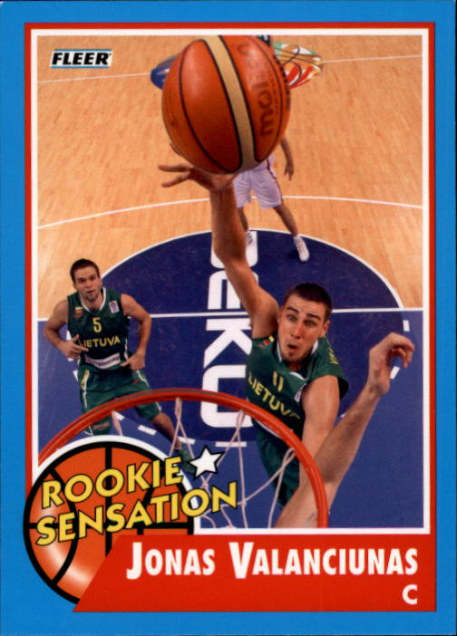 2011-12 Fleer Retro #52 Jonas Valanciunas RS
