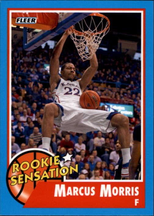 2011-12 Fleer Retro #58 Marcus Morris RS