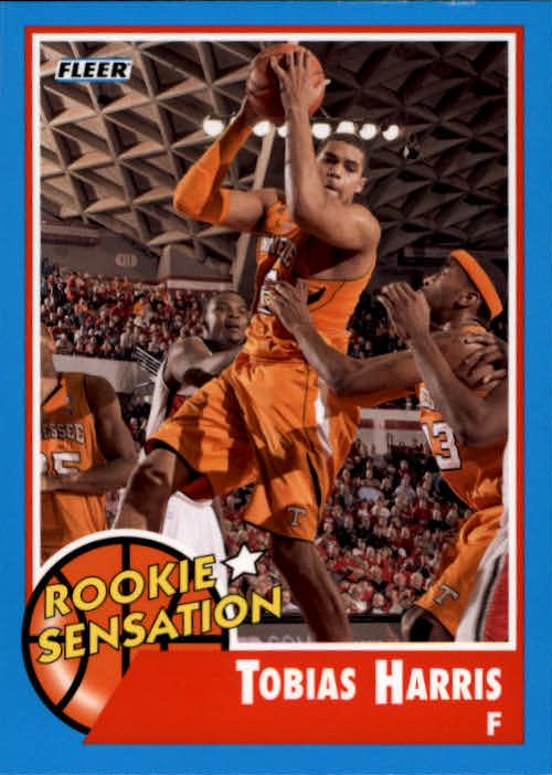 2011-12 Fleer Retro #62 Tobias Harris RS