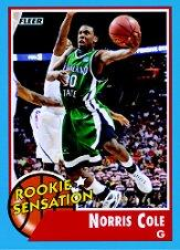 2011-12 Fleer Retro #68 Norris Cole RS