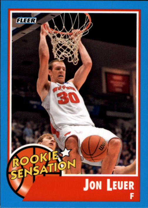 2011-12 Fleer Retro #75 Jon Leuer RS