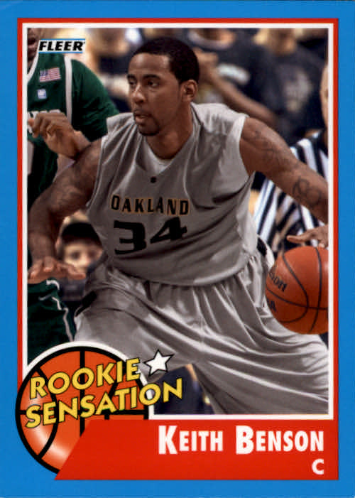 2011-12 Fleer Retro #79 Keith Benson RS
