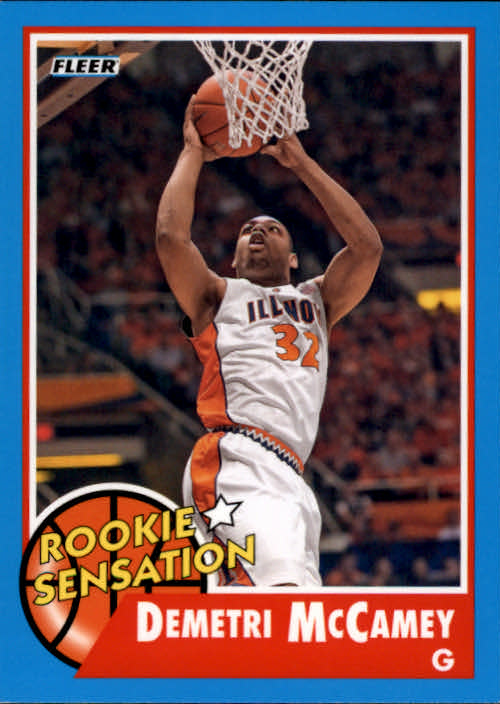 2011-12 Fleer Retro #82 Demetri McCamey RS