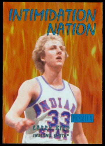 2011-12 Fleer Retro Intimidation Nation #6 Larry Bird