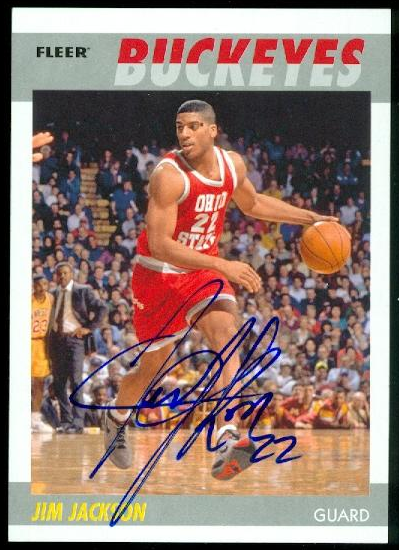 2011-12 Fleer Retro 1987-88 Autographs #JJ Jim Jackson