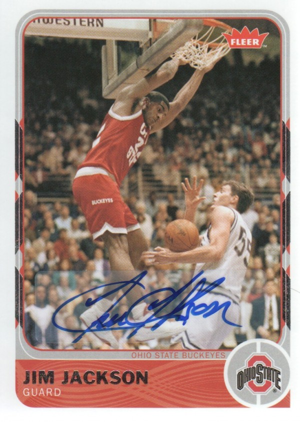 2011-12 Fleer Retro Autographs #37 Jim Jackson
