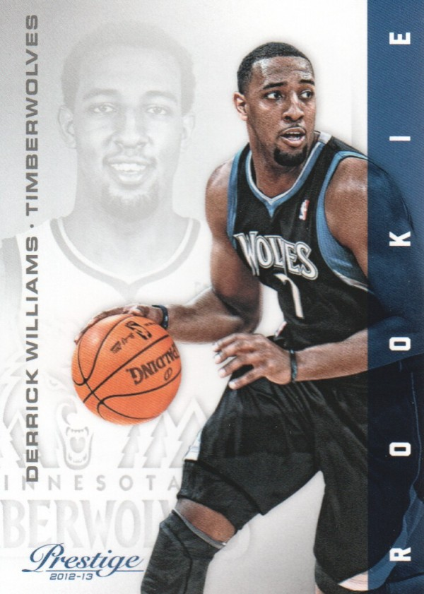 2012-13 Prestige #152 Derrick Williams RC