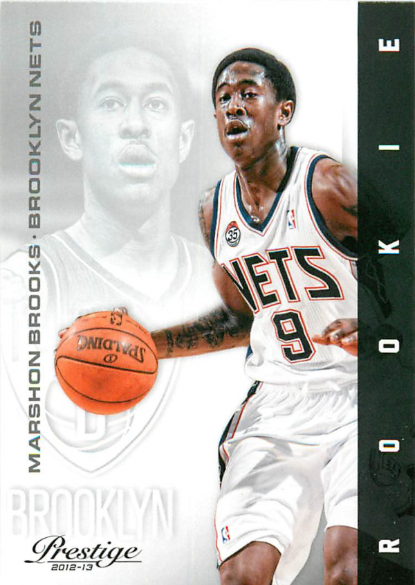 2012-13 Prestige #154 MarShon Brooks RC