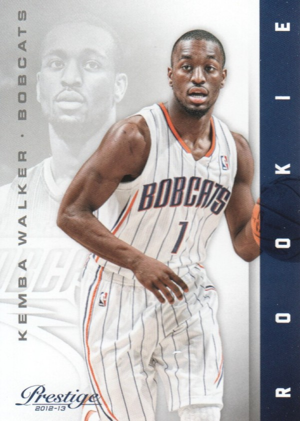 2012-13 Prestige #156 Kemba Walker RC