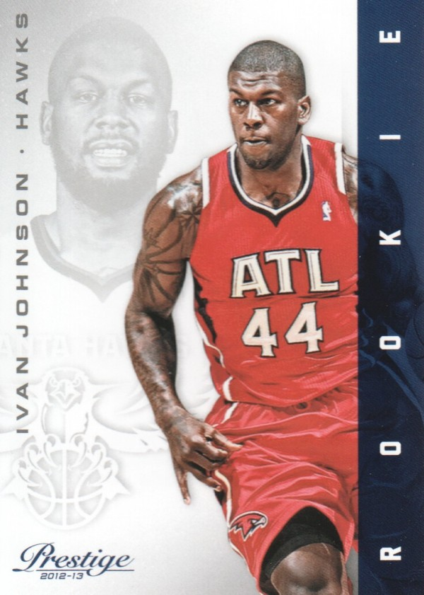 2012-13 Prestige #168 Ivan Johnson RC