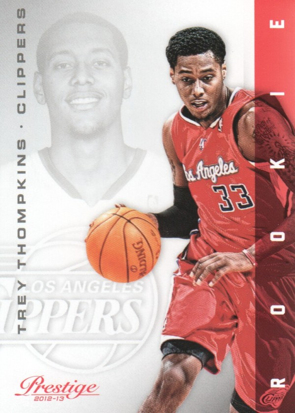 2012-13 Prestige #190 Trey Thompkins RC
