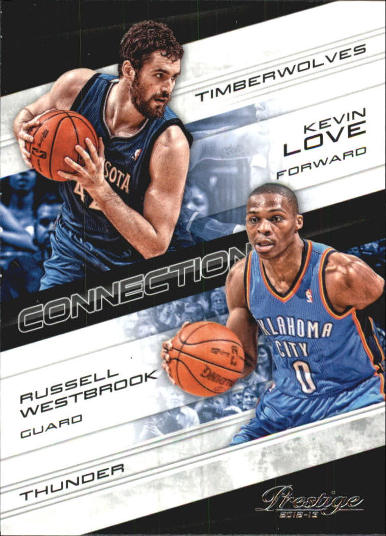 2012-13 Prestige Connections #3 Russell Westbrook/Kevin Love