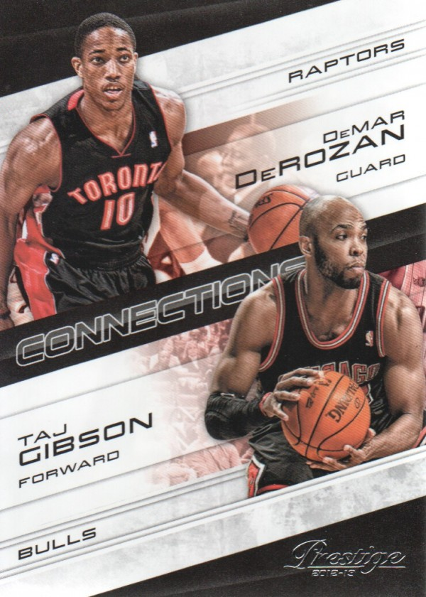 2012-13 Prestige Connections #10 DeMar DeRozan/Taj Gibson