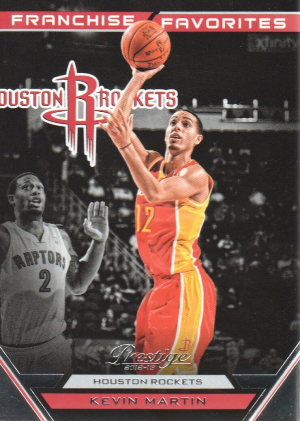 2012-13 Prestige Franchise Favorites #2 Kevin Martin