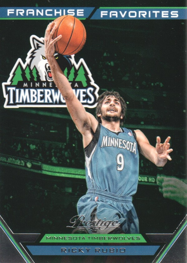 2012-13 Prestige Franchise Favorites #12 Ricky Rubio