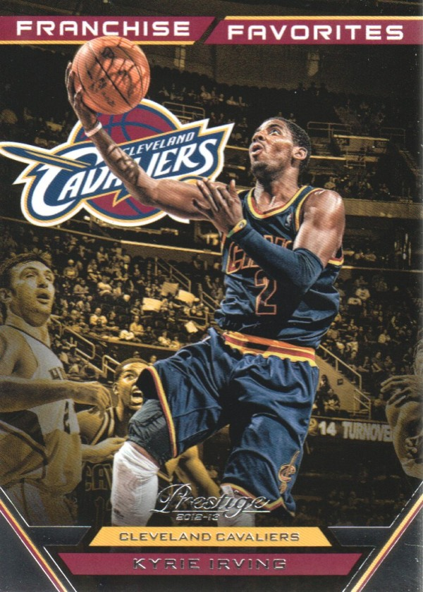 2012-13 Prestige Franchise Favorites #19 Kyrie Irving
