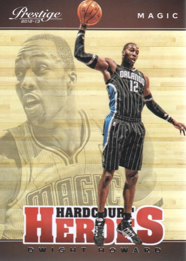 2012-13 Prestige Hardcourt Heroes #10 Dwight Howard