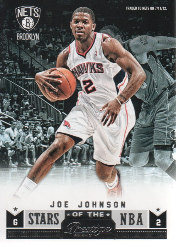 2012-13 Prestige Stars of the NBA #6 Joe Johnson