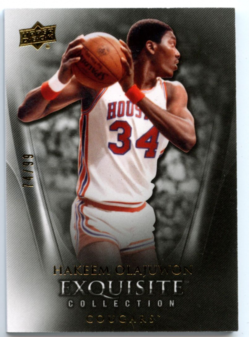 2011-12 Exquisite Collection #12 Hakeem Olajuwon