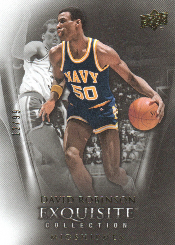 2011-12 Exquisite Collection #14 David Robinson