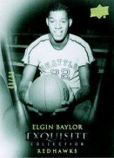 2011-12 Exquisite Collection #59 Elgin Baylor