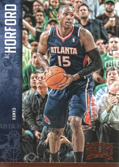 2012-13 Panini Threads #1 Al Horford