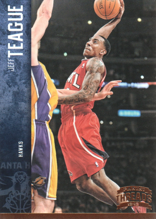 2012-13 Panini Threads #2 Jeff Teague