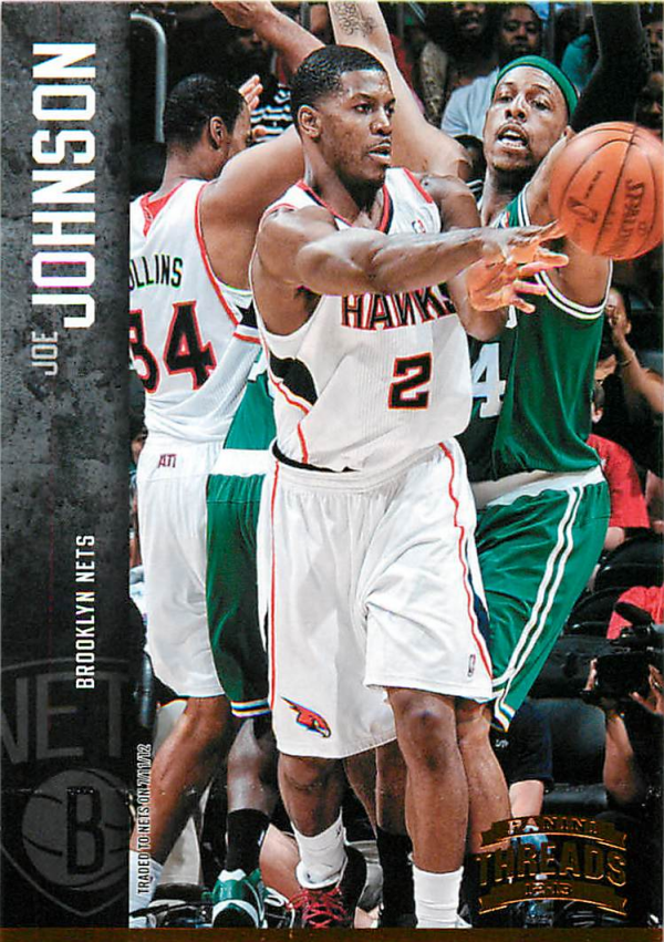 2012-13 Panini Threads #4 Joe Johnson