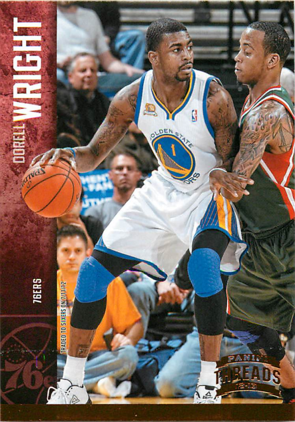 2012-13 Panini Threads #45 Dorell Wright