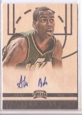 2012-13 Panini Threads #160 Alec Burks AU RC